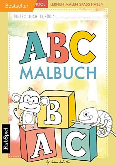 ABC-Malbuch